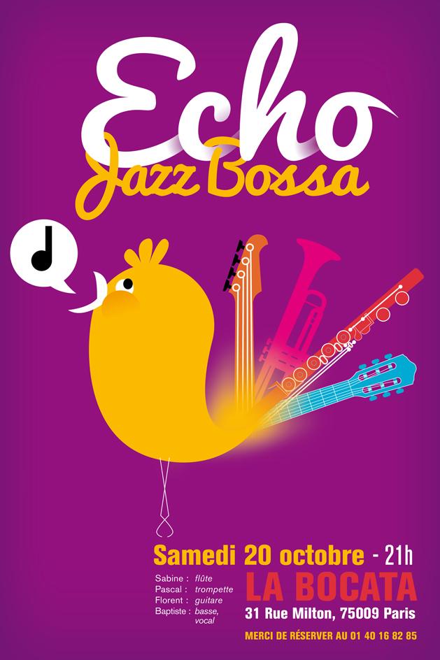 Echo jazz bossa ©pascal jehanno